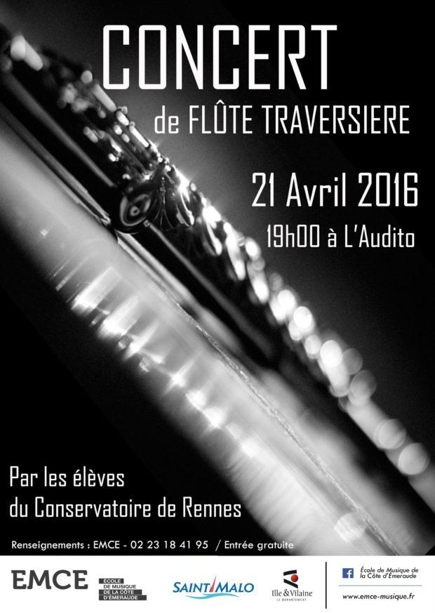 Concert de flûte traversière Saint-Malo
