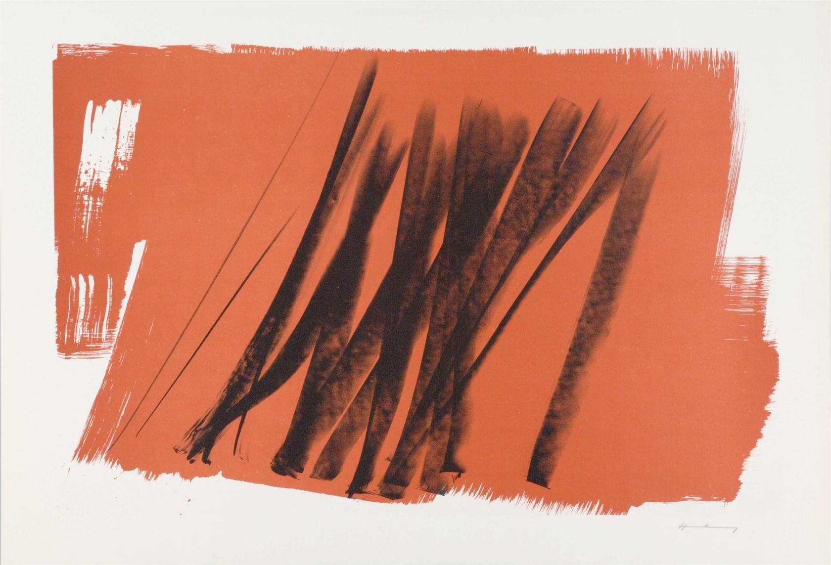 Ecriture et peinture engagées, jean Proal et hans Hartung Nantes