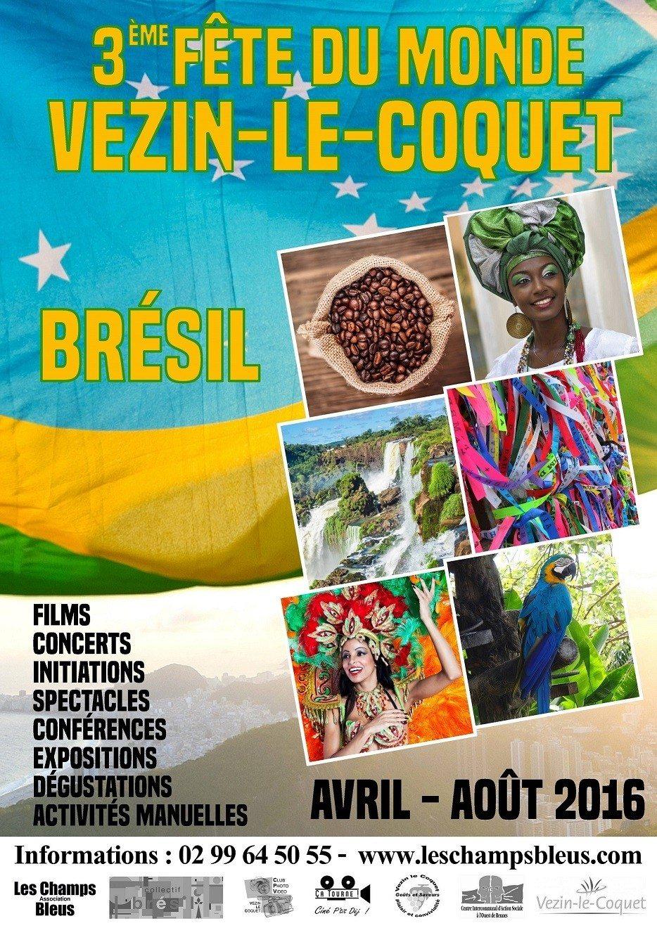 Être Noir au Brésil Vezin-le-Coquet