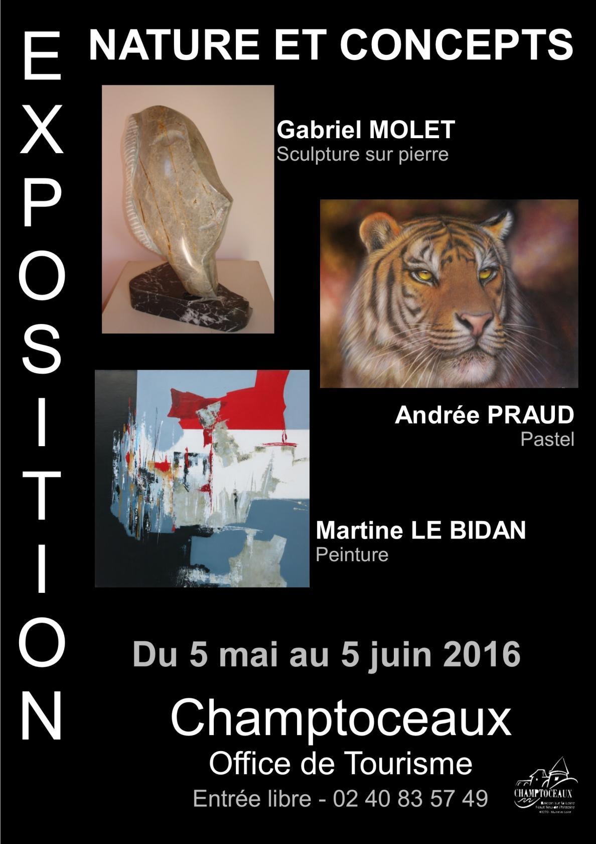 Exposition Nature et concepts Orée-d'Anjou
