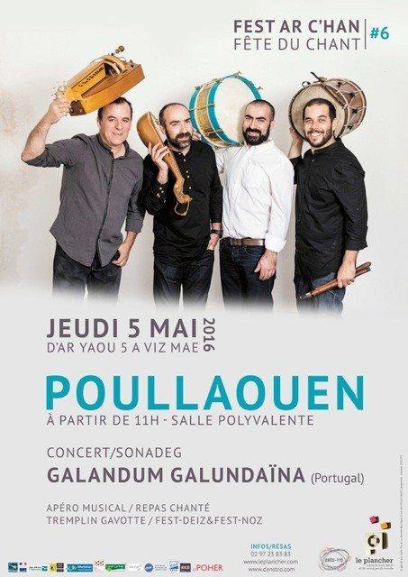 Fest ar c'han - La fête du chant, 6e Édition Poullaouen