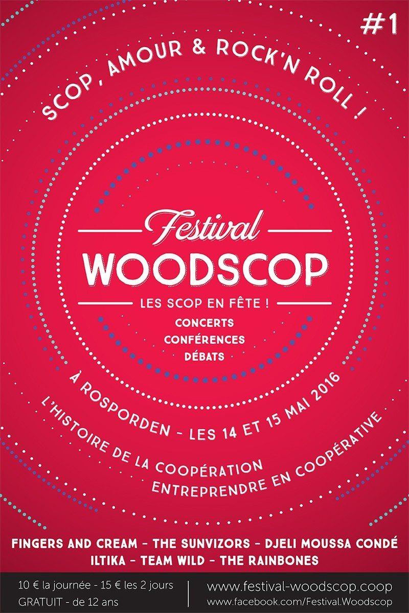 Festival Woodscop 1er festival des Scop de l'Ouest Rosporden
