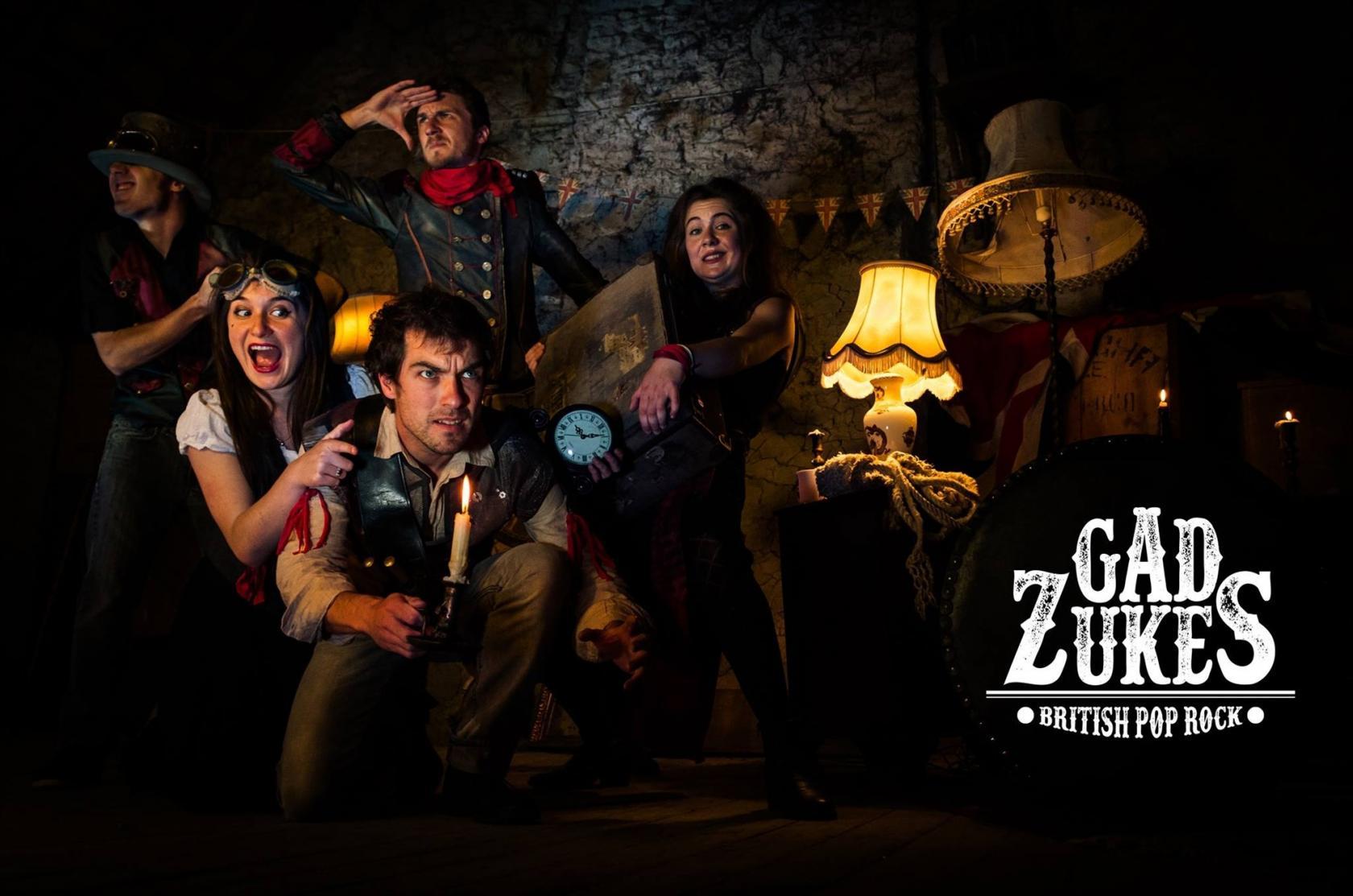 Fête musique Gad Zukes british pop-rock Languédias