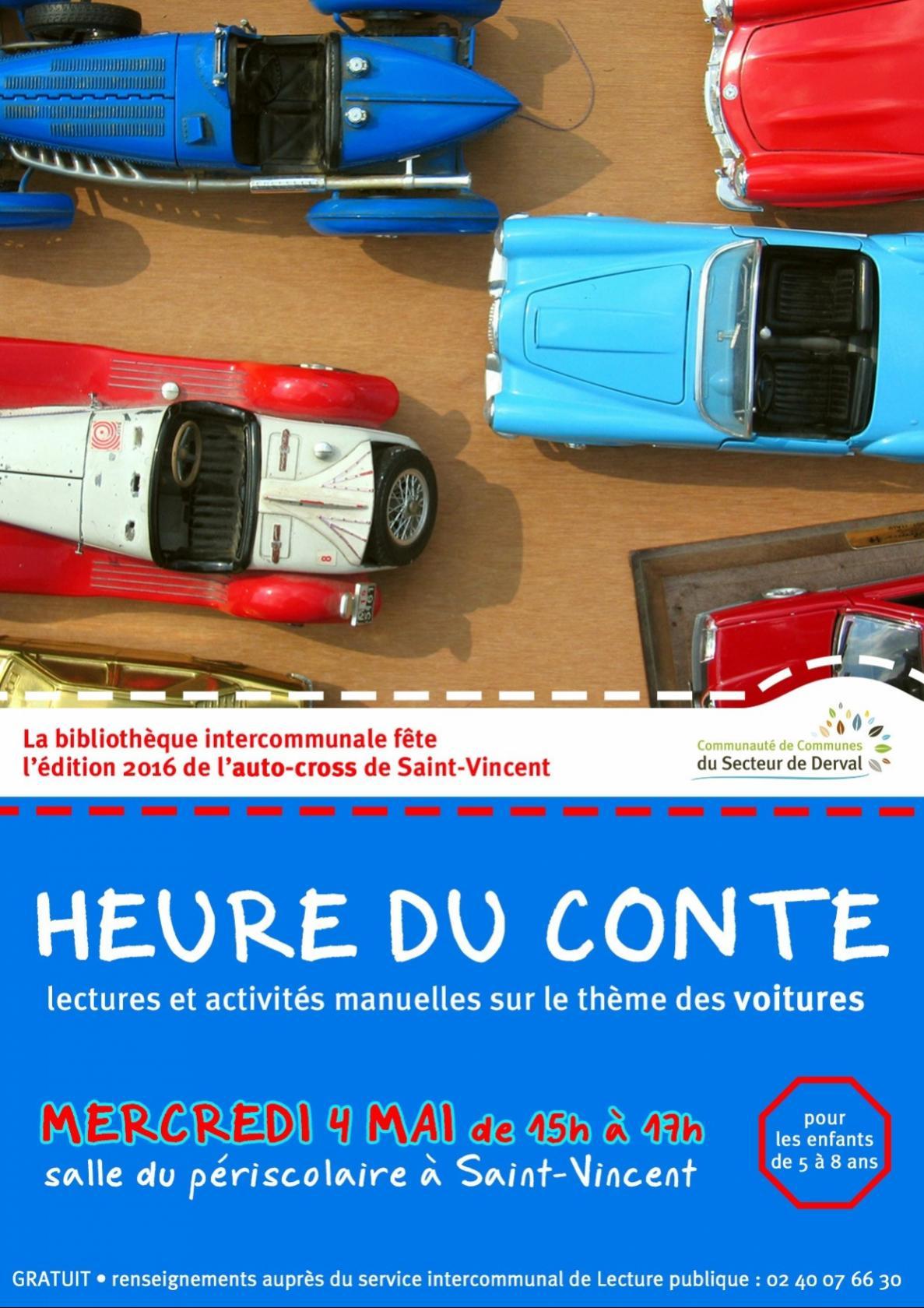 Heure du conte et activités manuelles Saint-Vincent-des-Landes