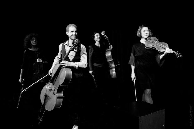 Impromptus musicaux, compagnie Tutti-Les fleurs de Bach Héric