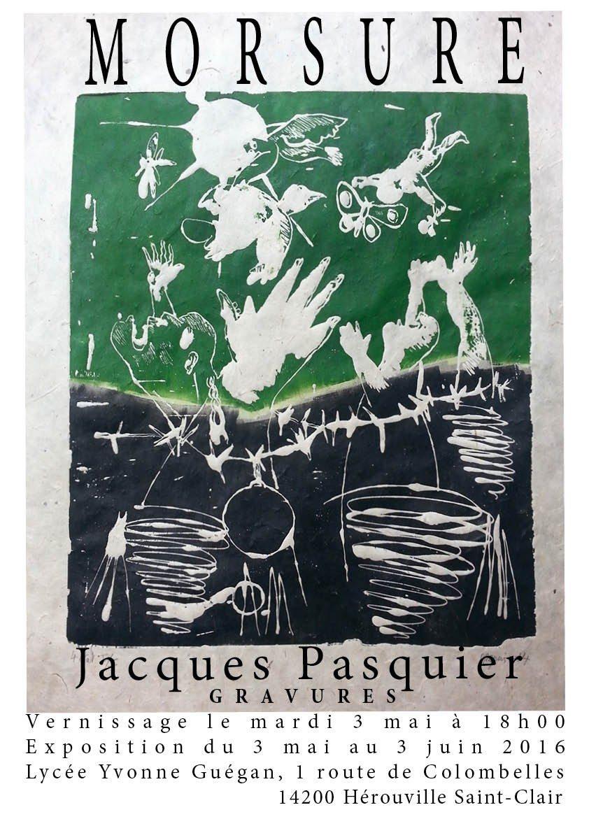 Jacques Pasquier Morsure (gravures) Hérouville-Saint-Clair