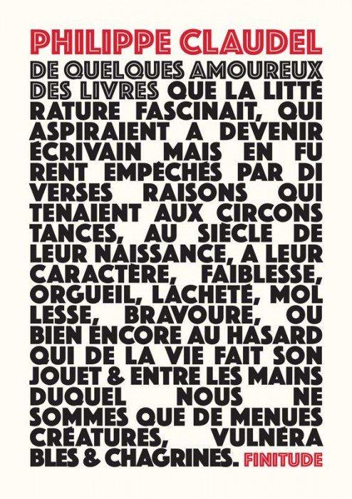 Philippe Claudel finitude