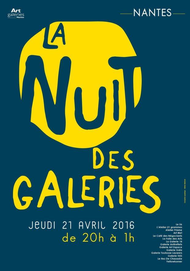 La nuit des galeries Nantes