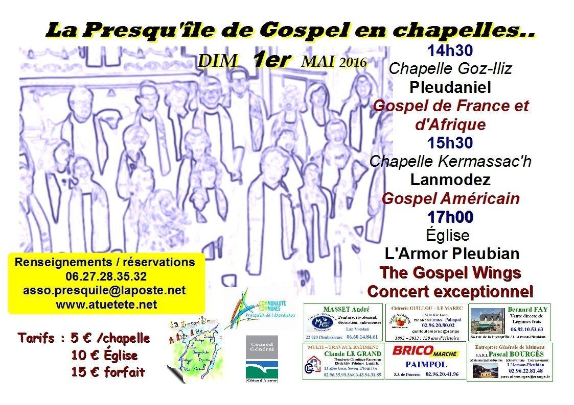 La Presqu'île de Gospel en chapelles Pleubian
