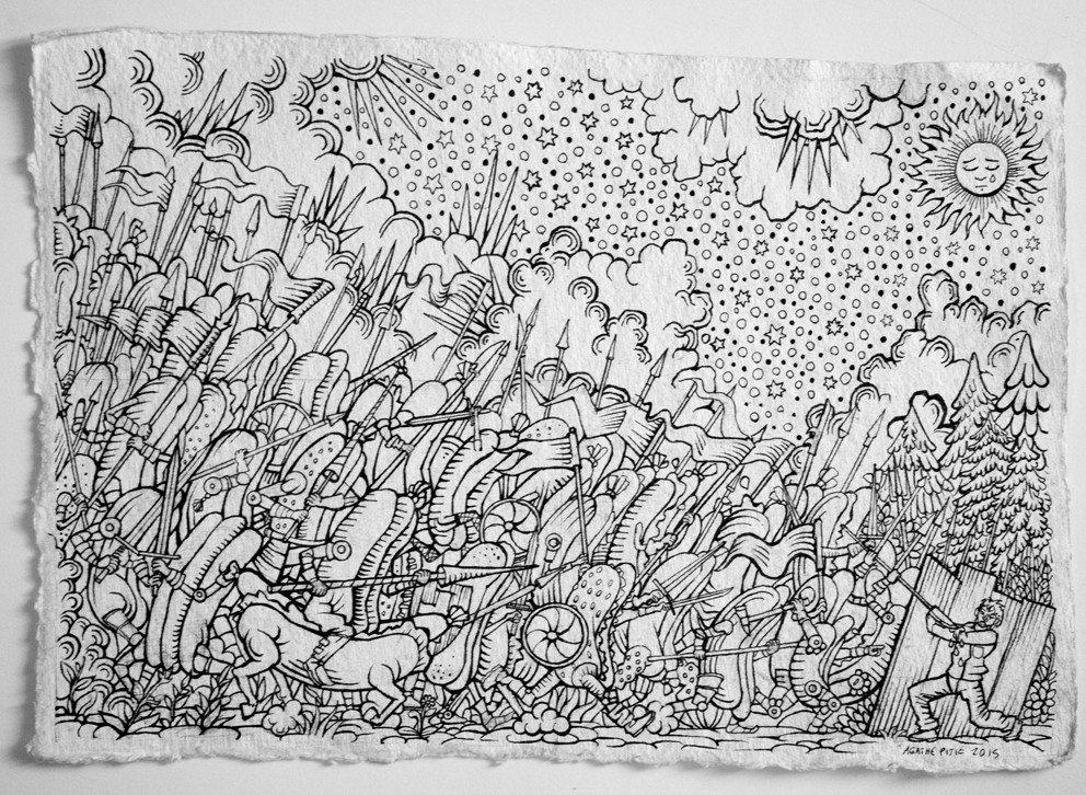 L'art contemporain et le médéval Bayeux