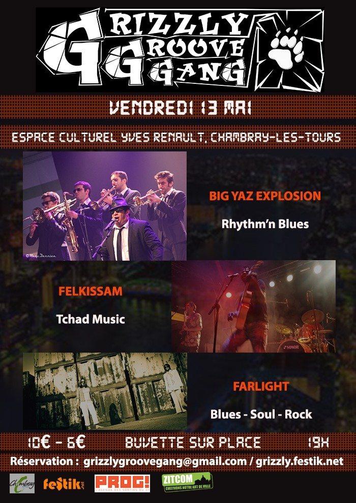 Le Grizzly fait son show Chambray-lès-Tours