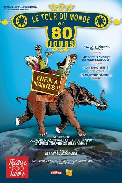 Le tour du monde en 80 jours Nantes