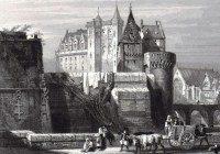 Les fortifications médiévales du château de Nantes Nantes