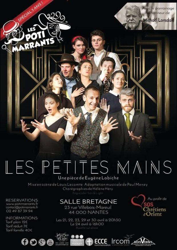 Les petites mains de Labiche, par la troupe des Potimarrants Nantes