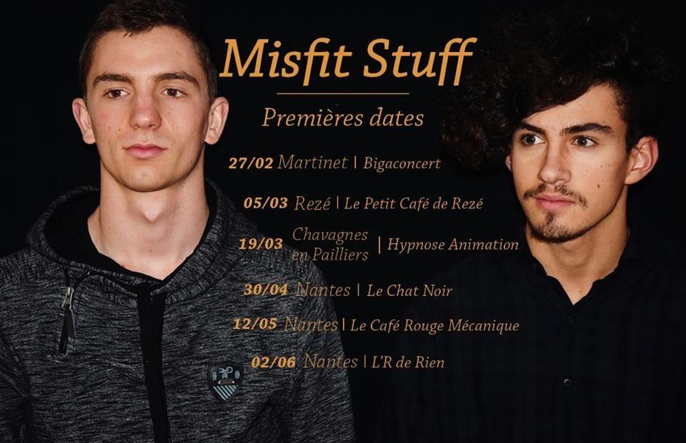 Misfit Stuff (rock acoustique/reprises) Nantes