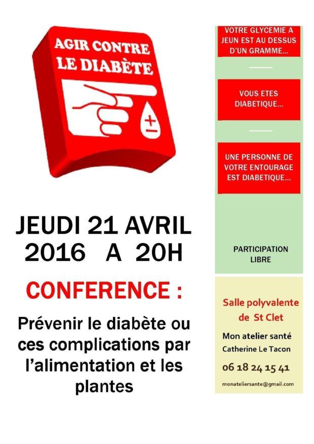 Prévention du diabète et de ses complications l'aide des plantes Saint-Clet