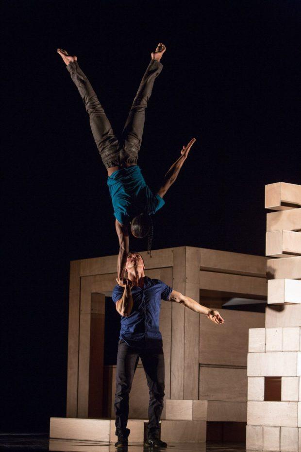 Quien soy ? , cirque, portés acrobatiques, compagnie El Nucleo Ernée