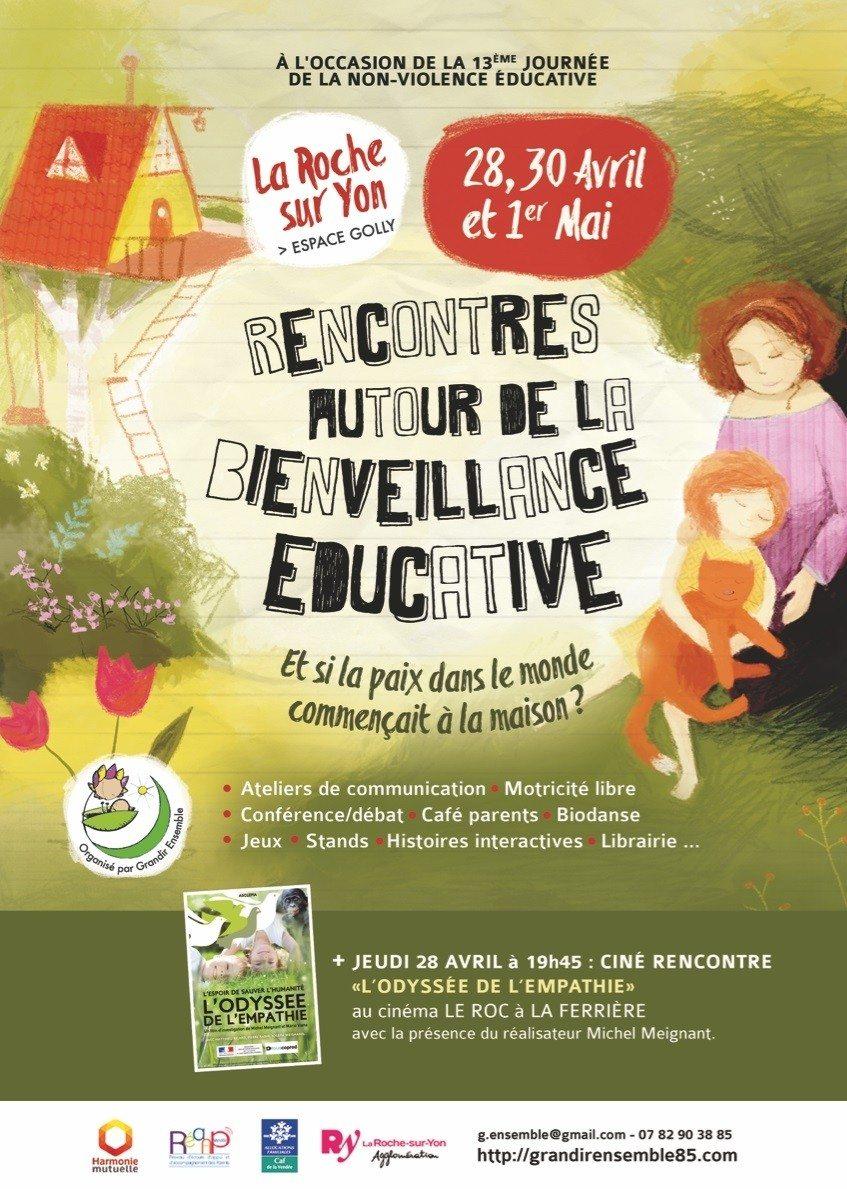 Rencontres autour de la bienveillance éducative La Roche-sur-Yon