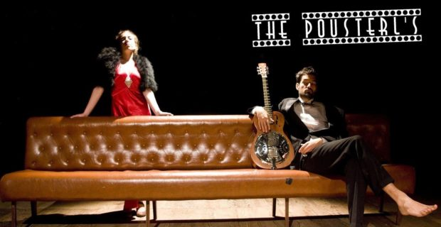 The Pousterl's (duo swing & burlesque) Nantes