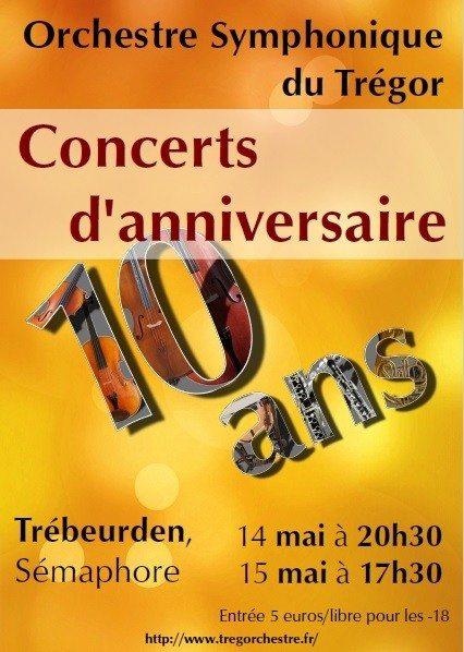 Trég'Orchestre fête ses 10 ans Trébeurden