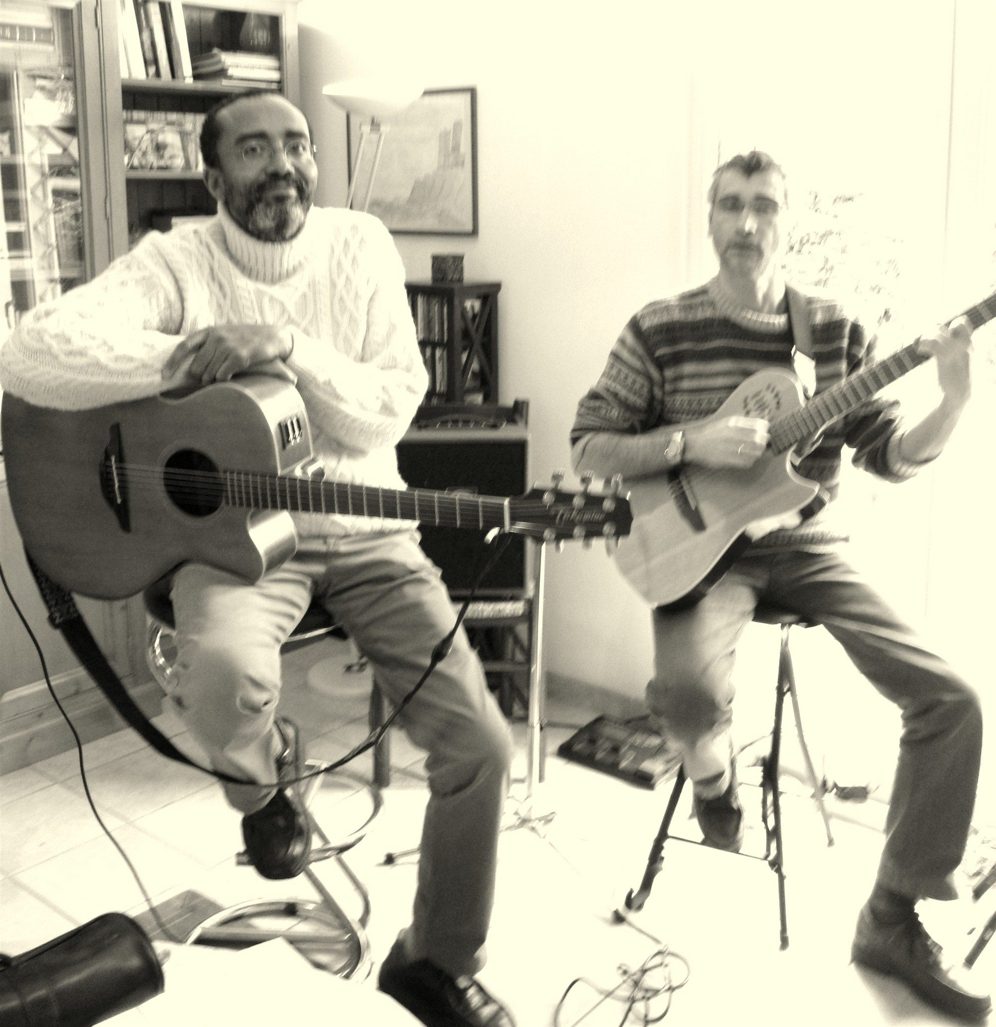 Two for the Road ! jazz duo Caen