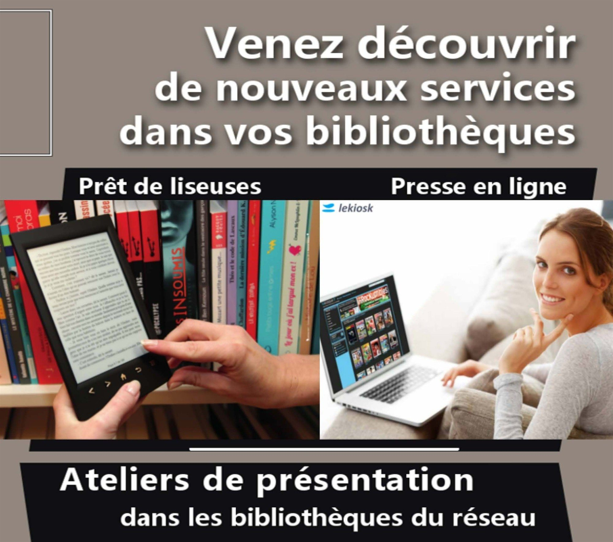Nouveaux services des bibliothèques Sartilly-Baie-Bocage