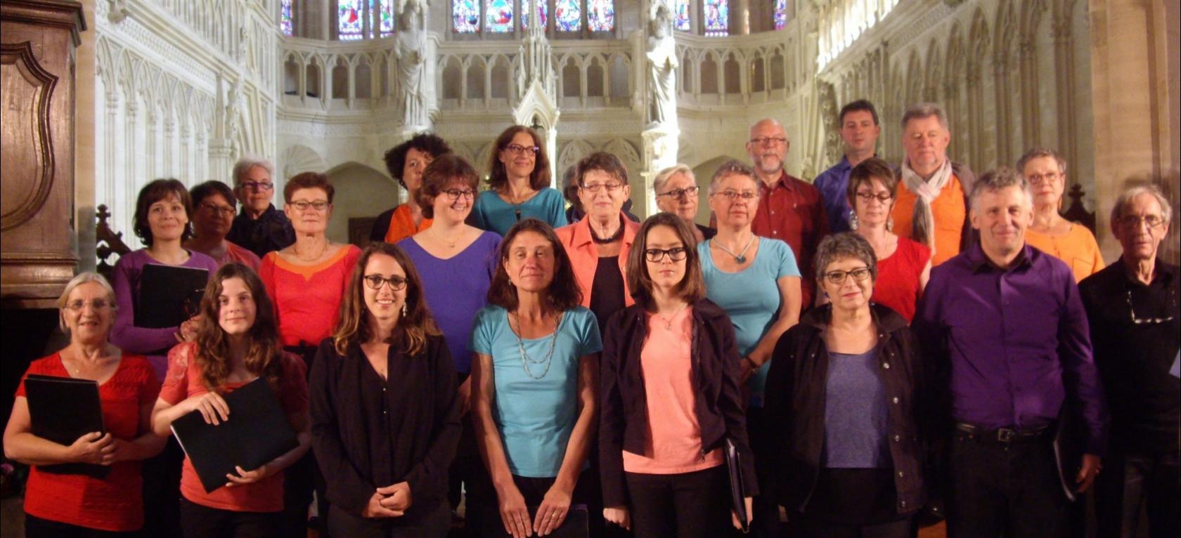 Le p'tit chœur l'Orphéon Bayeux Blay