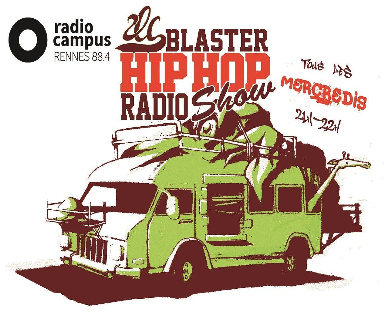 2LC Blaster Hip-Hop Live radio show Rennes
