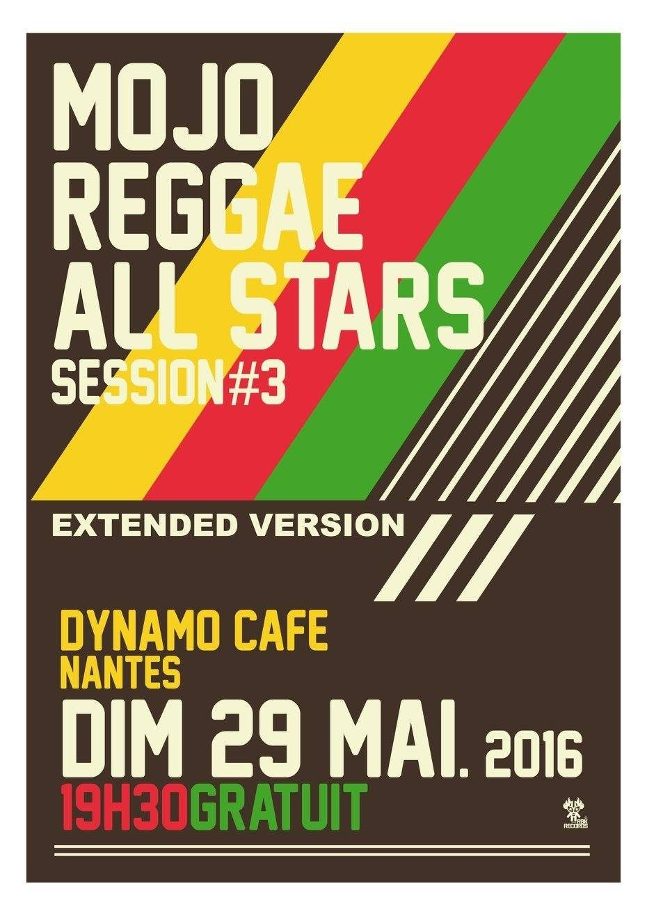 3e édition Mojo reggae all stars session Nantes