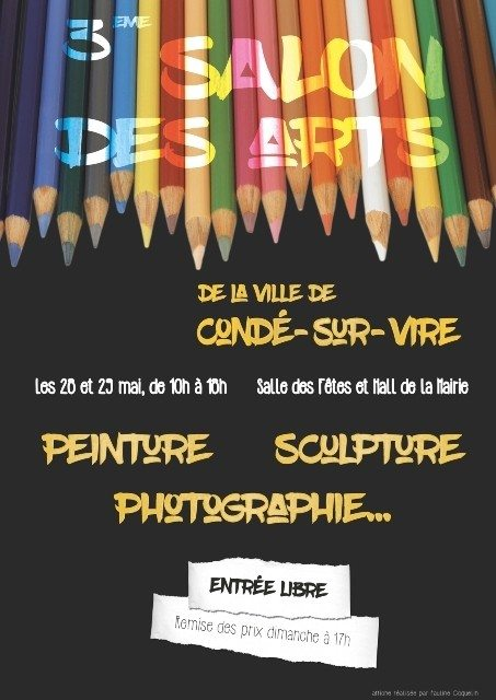 3e salon des Arts Condé-sur-Vire
