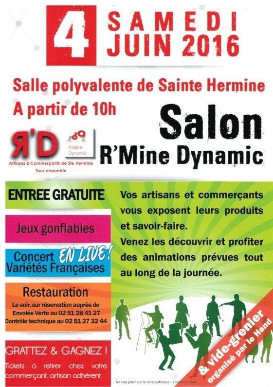5e salon des artisans et commerçants Sainte-Hermine