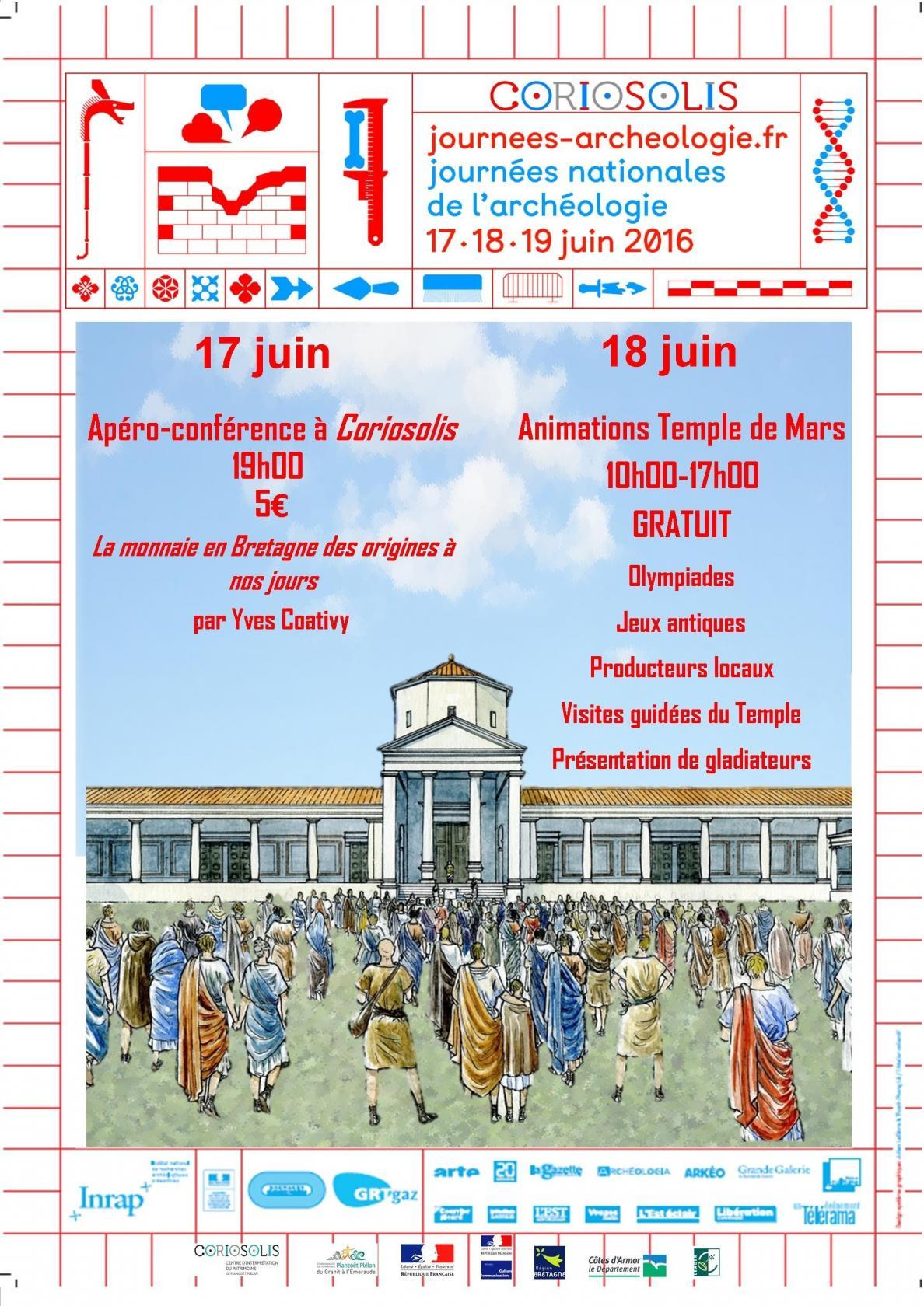 Apéro-conférence, la monnaie en Bretagne des origines à nos jours Corseul