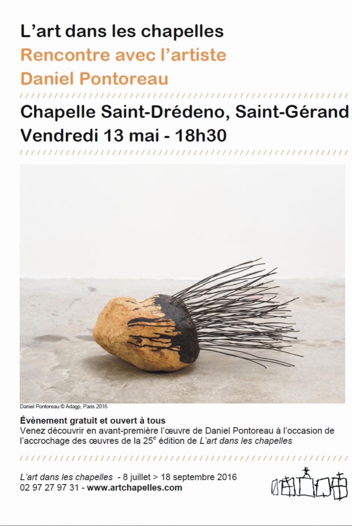 Art dans les chapelles Saint-Gérand
