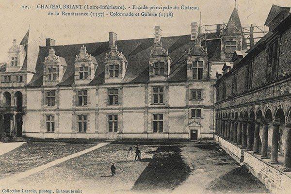 Au lendemain de la Révolution française Châteaubriant