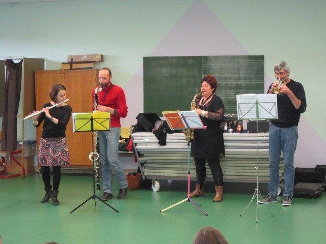 Audition des élèves de l'école de musique intercommunale Saint-Calais
