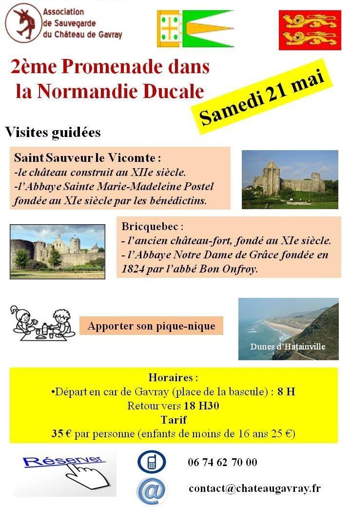 Château et abbaye de Saint-Sauveur-le-Vicomte et Bricquebec Saint-Sauveur-le-Vicomte