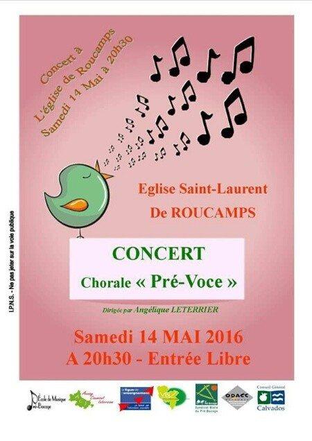 Chorale Pré Voce Roucamps