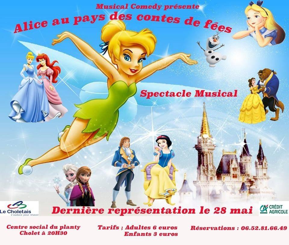 Comédie musicale : Alice aux pays des contes de fées Cholet