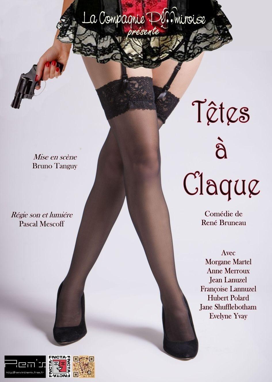 Comédie - Têtes à Claque par Cie Ploomiroise Porspoder