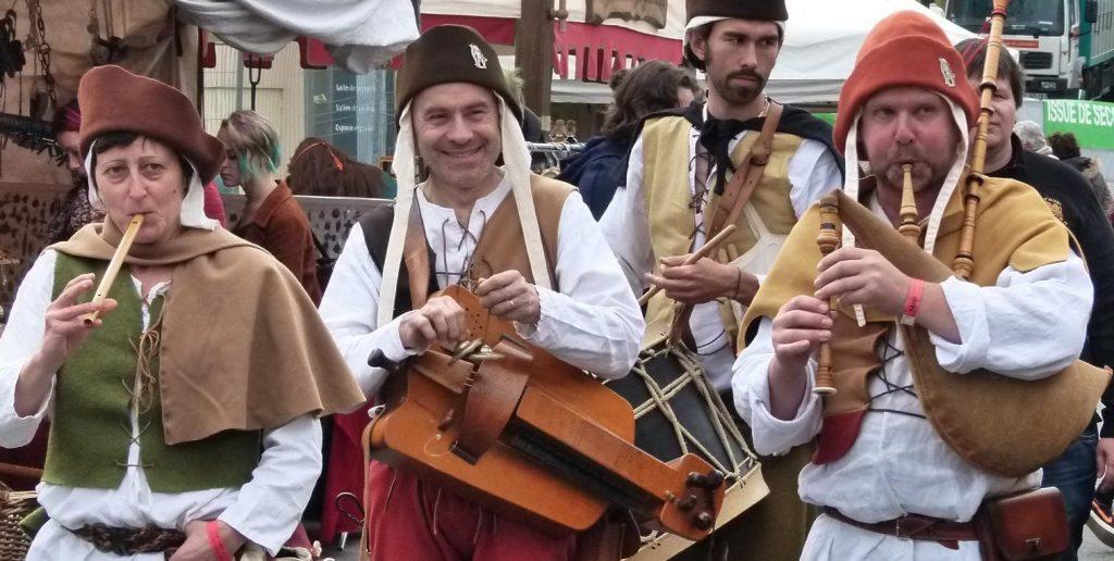 Compagnie La Chalemie musique médiévale et renaissance Dinan