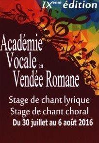 Chorale de l'AVVR répertoire classique baroque Foussais-Payré
