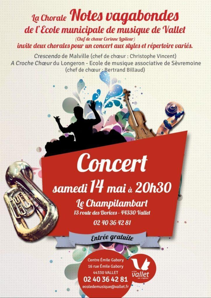 Concert de chorales Vallet