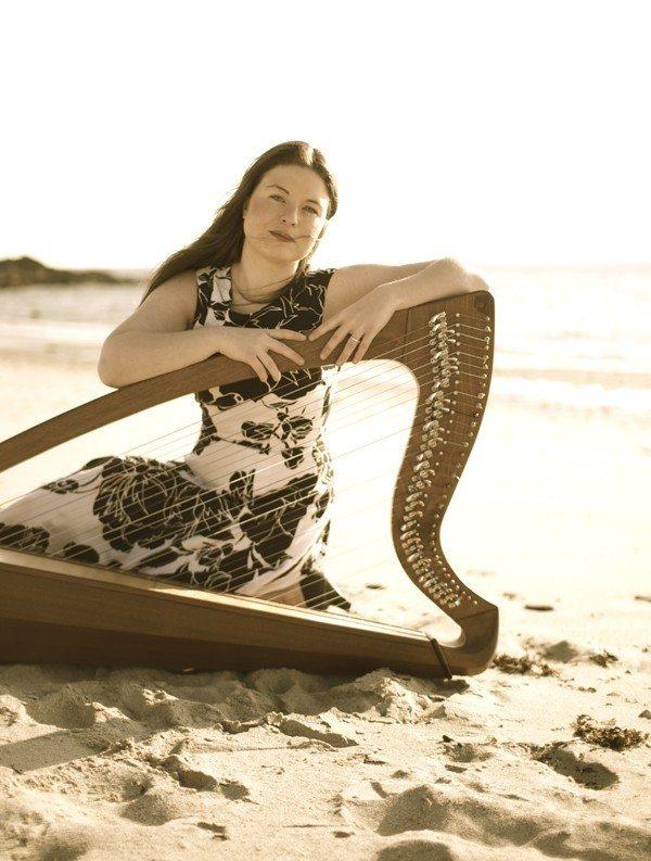 Concert de harpe celtique par Nolwenn Arzel Kerlouan