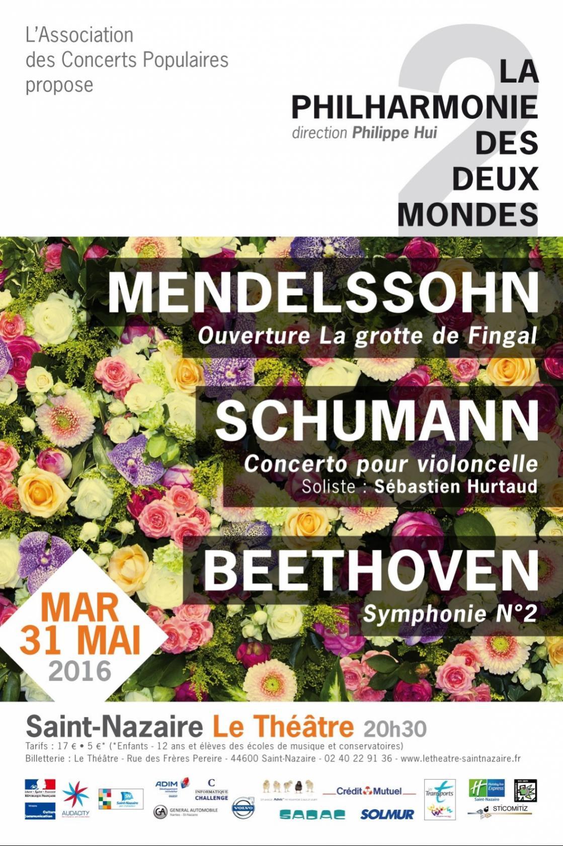 Concert de la Philharmonie des Deux Mondes à Saint-Nazaire Saint-Nazaire