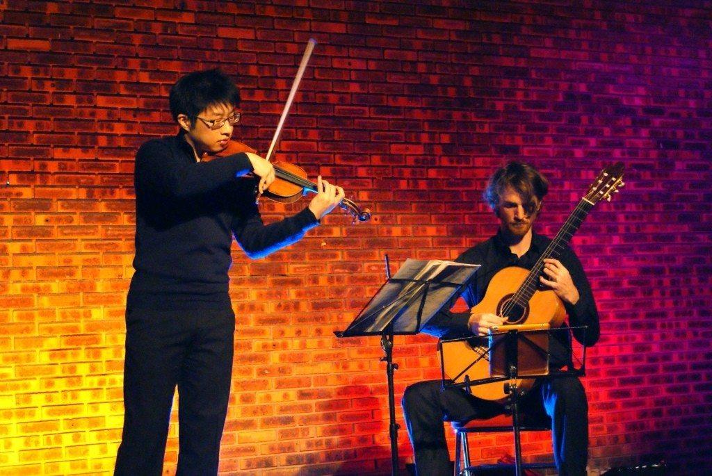 Concert de la Saint-Norbert : duo violon-guitare Paimpol