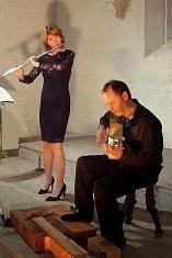 Concert de musique classique d'inspiration celtique Duo Arrin Plouarzel