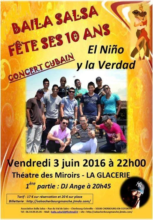 Concert de salsa cubaine : El Nino y la Verdad Cherbourg-en-Cotentin