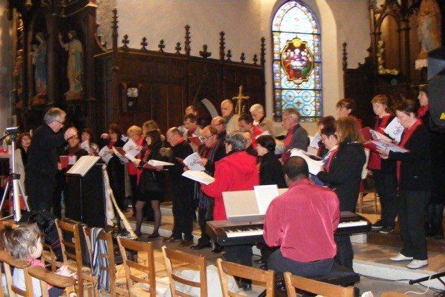 Concert des chorales de Bain-de-Bretagne et Pipriac Saint-Malo-de-Phily