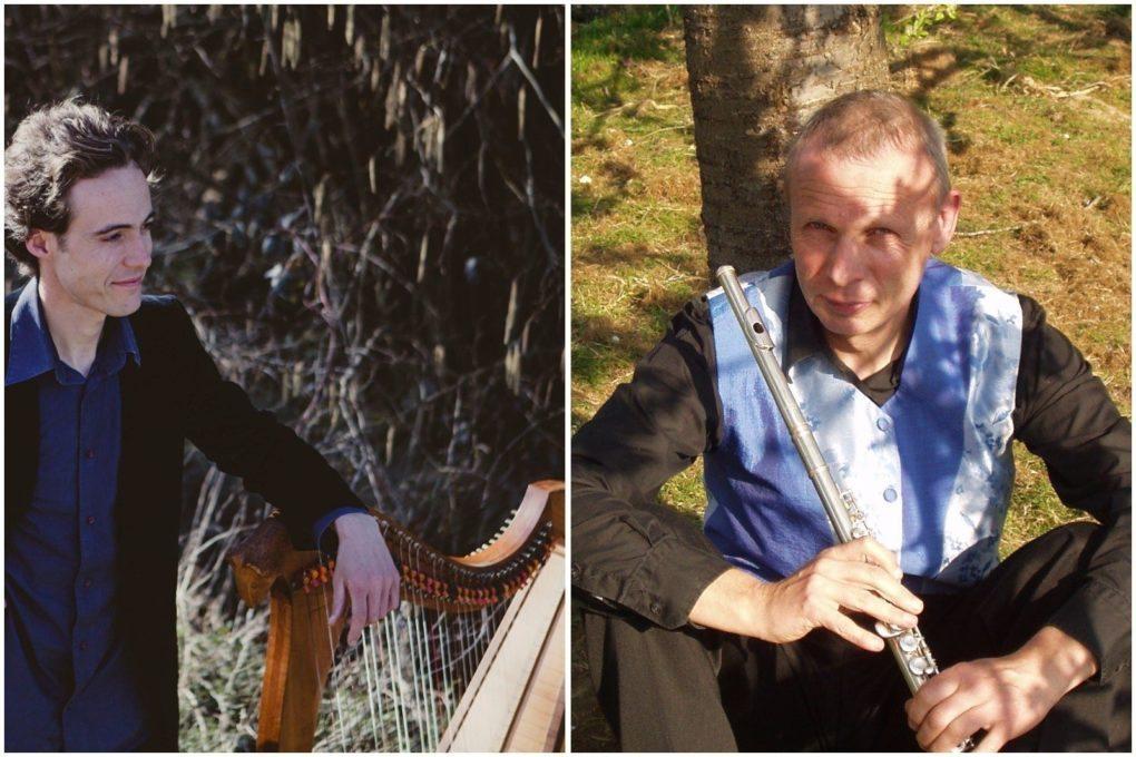 Concert harpe celtique et flûtes Arradon
