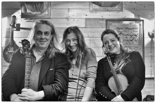 Concert Trio Hayes Léon Quémener (musique Irlandaise) Rohan